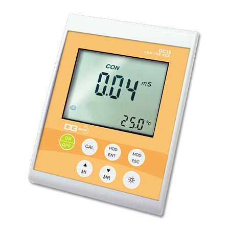 《DGWater》桌上型電導度/TDS/鹽度/ 比阻計 DC30 EC/TDS/Salinity/Resistance Meter