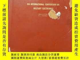 二手書博民逛書店1964罕見Conference Proceedings【大16開精裝 英文版】(1964年 會議記錄)Y16