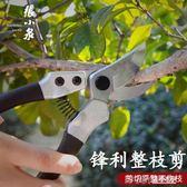 張小泉修剪樹枝剪園藝剪刀果園用品修花枝剪粗枝省力園林家用WD 溫暖享家