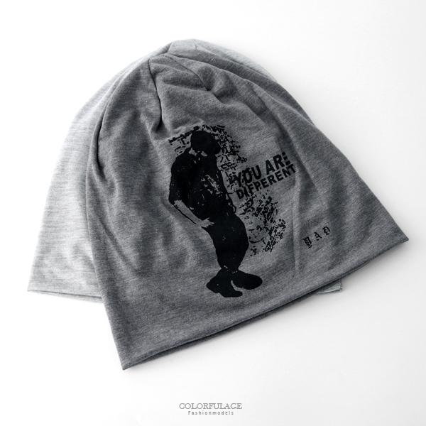 毛帽 人像圖案棉質薄款帽【NH283】
