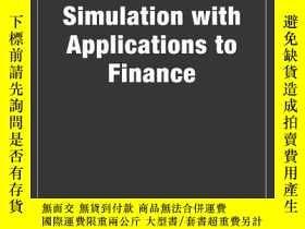 二手書博民逛書店Monte罕見Carlo Simulation With Applications To FinanceY25