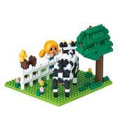 《 Nano Block 迷你積木 》NBH-166 農場╭★ JOYBUS玩具百貨