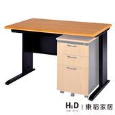 原木色辦公桌(寬160cm)(19CS3/565-2)/H&D 東稻家居