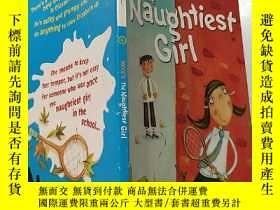二手書博民逛書店the罕見naughtiest girl:最調皮的女孩:Y200392
