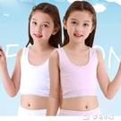 女童內衣9-12歲小背心女學生女童發育期純棉薄款小學生10歲小女孩內衣 多色小屋