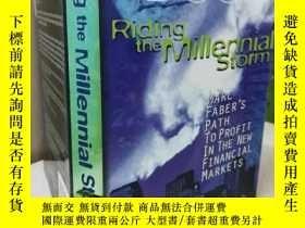 二手書博民逛書店Riding罕見the Millennial Storm: Ma