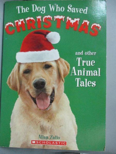【書寶二手書T1/原文小說_HCO】The Dog Who Saved Christmas and Other…