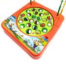 電動釣魚機 釣魚台(小號) 24隻魚 釣魚 夜市釣魚 撈魚台 音樂聲光 親子互動 復古玩具【塔克】