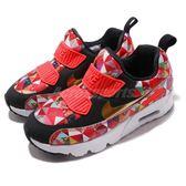 Nike 復古慢跑鞋 Air Max Tiny 90 BP CNY 紅 金 免綁鞋帶 氣墊 休閒鞋 童鞋 中童鞋【PUMP306】 BV6663-617