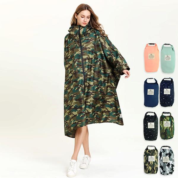 【RainSKY】飛鼠袖斗篷-雨衣/風衣 大衣 長版雨衣 迷彩雨衣 連身雨衣 輕便雨衣 超輕雨衣 日韓雨衣+1