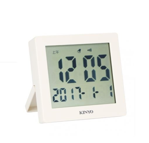耐嘉 KINYO TD-389 輕巧多功能電子鐘 數字鐘 鬧鐘 時鐘 床頭座鐘 電子鬧鐘 貪睡功能 日期顯示 懸掛