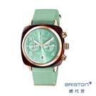 【官方旗艦店】手工方糖錶 折射光感 薄荷綠 時尚百搭 禮物首選