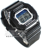 SKMEI 彩色繽紛 休閒多功能 夜間冷光照明 方形 男錶 中性錶 女錶 學生錶 情侶對錶 都適合 SK6918黑