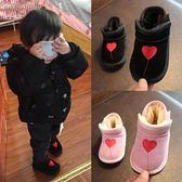 寶寶雪地靴女0一1-3歲嬰兒學步鞋軟底小童棉鞋男寶寶鞋子冬季加絨 CY潮流站