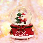 水晶球八音盒聖誕節禮物【不二雜貨】