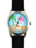 【卡漫城】 出清 史奴比 矽膠 自動 機械錶 海灘 ㊣版 史努比 男錶 女錶 日期 卡通錶 Snoopy 手錶