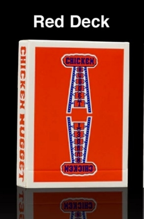 【USPCC撲克】雞塊牌CHICKEN NUGGET 紅色S102980
