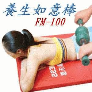 FM-100養生如意棒(又稱龍馬棒,是推拿與傳統整復的好幫手)《家樂美健康事業系列產品》