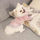 博美衣服小狗狗比熊泰迪網紅小型犬公主裙寵物冬天冬季秋冬裝裙子