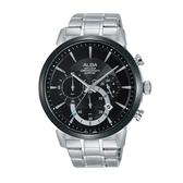 ALBA 潮流任我行經典腕錶/藍寶石水晶鏡面/VD53-X295D