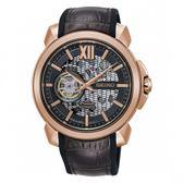 【分期0利率】SEIKO 精工錶 Premier 喬科維奇 簍空機械錶 全新原廠公司貨 SSA374J1
