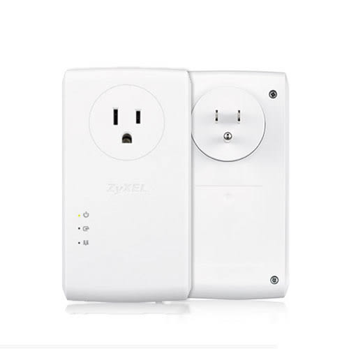 ZyXEL 合勤科技 PLA5456 1800Mbps 雙網路埠 GbE 電力線 上網設備 (雙包裝 含插座)