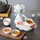 Pure 游魚戲水茶具七件組...