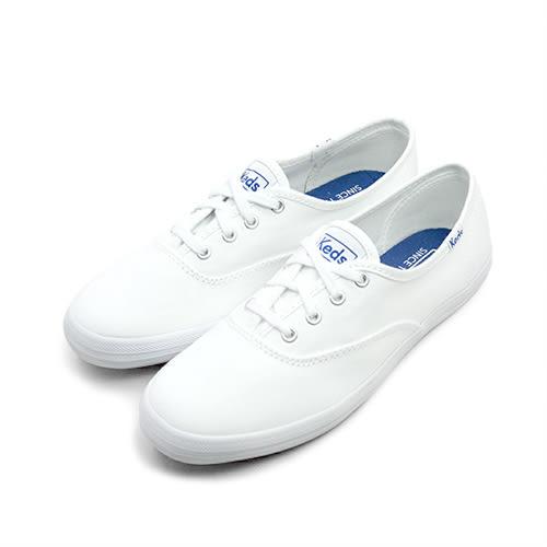 LIKA夢 Keds 時尚韓風經典款帆布鞋 Classics系列 白 110002 女