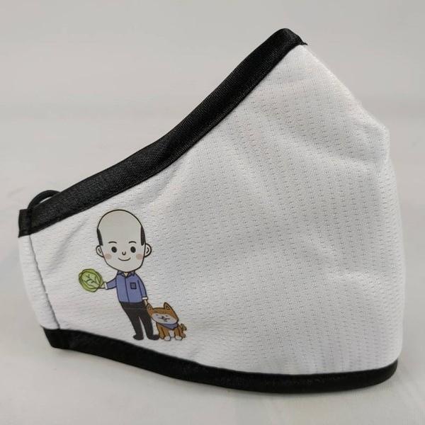 PYX 品業興 抗菌防霾輕薄款口罩P - 白色 (賣菜郎限量版)