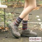 長統襪堆堆襪子純棉韓版復古日系