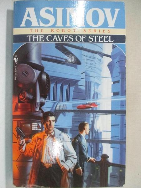 【書寶二手書T3/原文小說_GJK】Caves of Steel (Robot City (Paperback))_ASIMOV, ISAAC