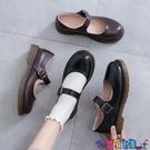 皮鞋 軟妹可愛小皮鞋日系圓頭女學生百搭娃娃鞋平底學院風鞋子制服鞋 618狂歡