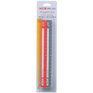 【奇奇文具】三燕COX MR-200C 彩色磁尺/磁條/磁鐵 20cmx2支