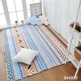 北歐簡約全棉滿鋪爬行榻榻米地墊臥室地毯床邊墊可機洗水洗 qz5984【甜心小妮童裝】