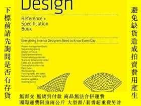 二手書博民逛書店The罕見Interior Design Reference &