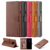 全新品 出清 三星 S8 Plus S9 Plus A20 A30 Note10 Lite 小牛紋翻蓋 手機皮套 手機殼 插卡 支架 皮套 保護套