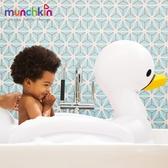 【周年慶下殺】munchkin滿趣健-充氣式感溫天鵝造型浴盆
