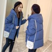羽絨服 面包服女反季特賣冬裝新款韓版寬鬆羽絨棉襖厚外套很仙的棉服
