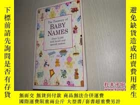 二手書博民逛書店The罕見Treasury of BABY NAMES(英文原版