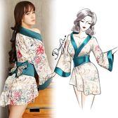 女性感情趣內衣服sm騷制服激情套裝開檔緊身用品透視裝和服三點式