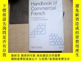 二手書博民逛書店Handbook罕見of Commercial French【英