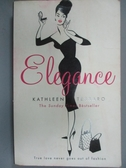 【書寶二手書T5/原文小說_LJG】Elegance_Kathleen Tessaro, KATHLEEN TESSAR