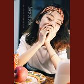 經典條紋海軍風復古交叉發帶頭巾多色發飾韓版發箍 CY潮流站