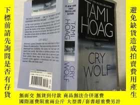 二手書博民逛書店CRY罕見WOLF狼嚎(英文原版)Y199921 Tami Ho