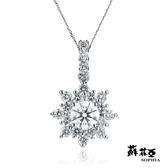 蘇菲亞SOPHIA - 艾蜜莉 1.00克拉FVVS1 3EX鑽石項鍊