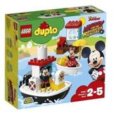 LEGO 樂高 Duplo Mickey s Boat 10881 Building Set (28 Piece)