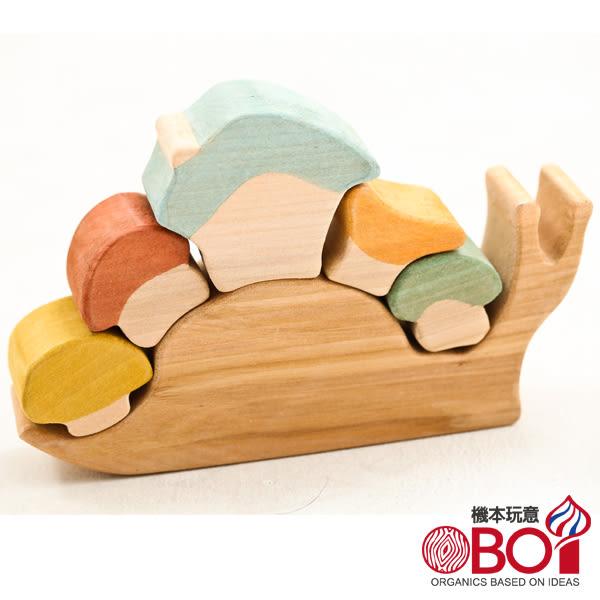 俄羅斯積木 -- 淳木童話 -- 建築遊戲系列: 莎夏蝸牛屋 新年禮物/禮物