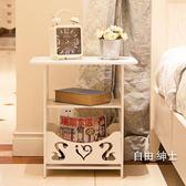 (萬聖節)簡約床頭櫃現代客廳儲物小櫃子宿舍臥室簡易床頭邊櫃WY