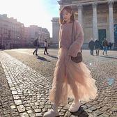 長袖套裝 女法式復古收腰冬裙洋氣毛衣裙子兩件秋冬-新主流