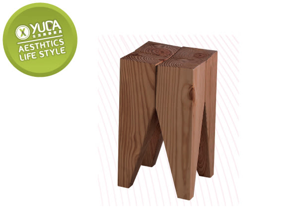 【YUDA】 經典 胡桃色 優麗坦 牙椅 椅凳/收納椅/休閒椅J8F 291-2